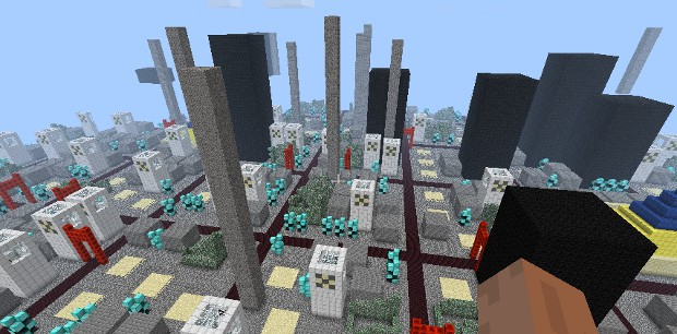 The megacity of your Minecraft nightmares.