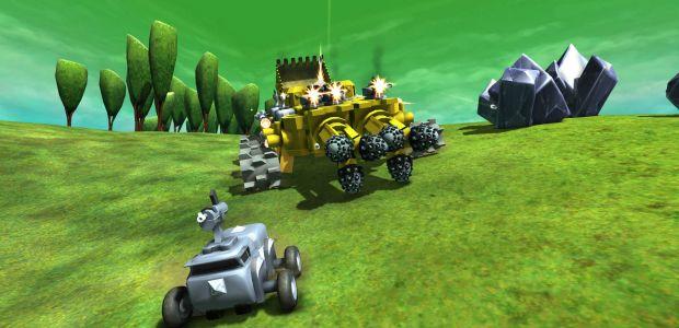Terratech Build A Tank Kill Other Tanks Rock Paper Shotgun