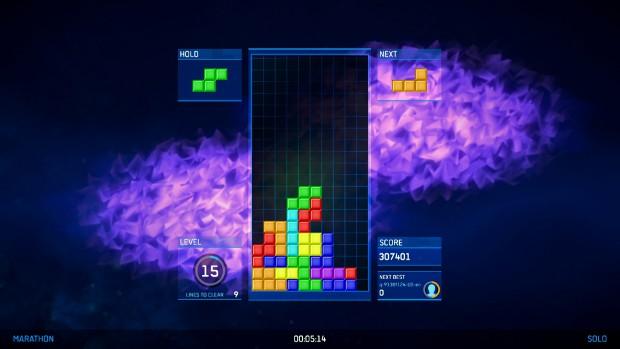 Next-gen Tetris smoke.