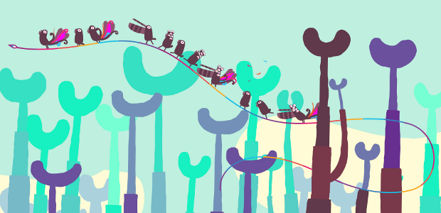 I assume working on an unannounced PC version of Hohokum is why you're too busy to blog, RICKY.