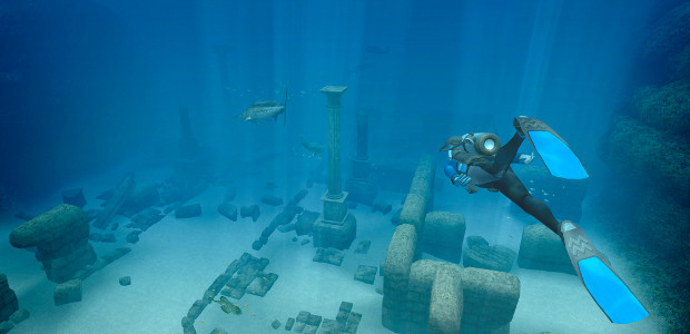 Instead of this Endless Ocean 2 screen you may, if you wish, imagine World of Diving.