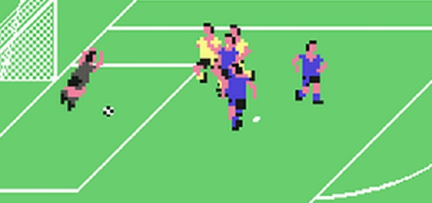 the inch-perfect rendering of Emlyn Hughes is used as the model for every player in the game. The resemblance was so accurate that it reportedly caused Hughes to react with fear and anger, claiming he had been 'cloned'. His furious letter to Audiogenic Software about the incident was the inspiration for Bjork's hit, Army Of Me