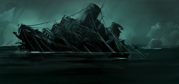 This will happen to you. Except your ship will be like a dinghy in comparison to this steely beast.