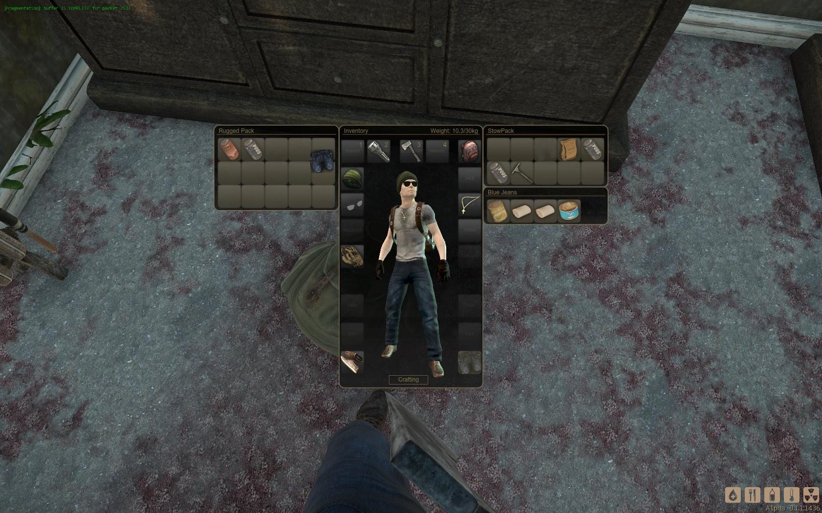 Drag-'n'-Drop is a welcome improvement over DayZ's Accidentally Drop.