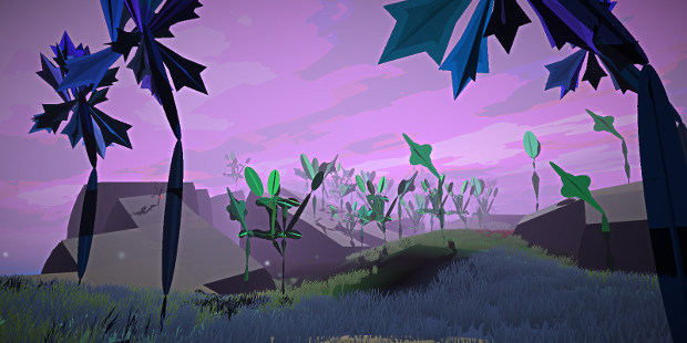 Admiring Procedural Islands And Flora In Meadows | Rock Paper Shotgun