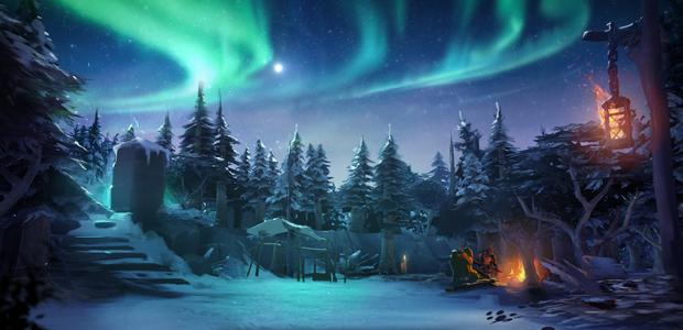 Dunkin' in a winter wonderland