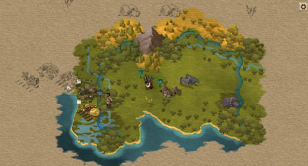 At The Gates is a 4X game that learns from RimWorld and Spelunky