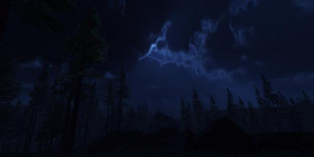 It was a dark, dark night...
