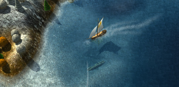 Hope that ship full of dead crewmen doesn't demoralize my crewmen.