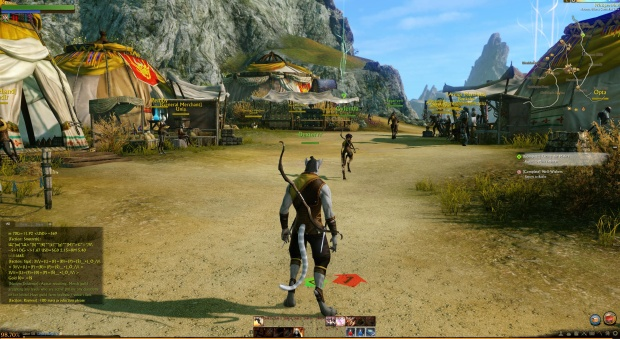 An MMO, yesterday.