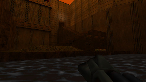 Normally I'd say Quake II has the best-feeling movement of any game but in water...