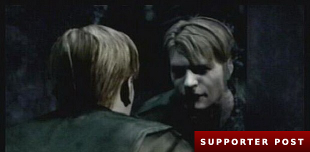 James Sunderland reflects on his situation in Silent Hill 2's opening scene
