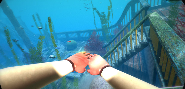 FPS: First-person swimmer.