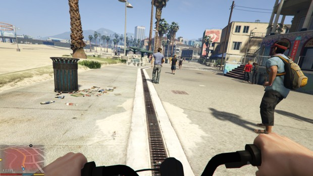 Vespucci Beach is one of the best places in the game to people watch.