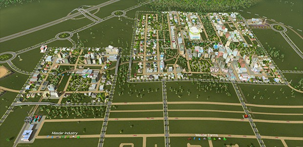 how to develop downtown cities skylines
