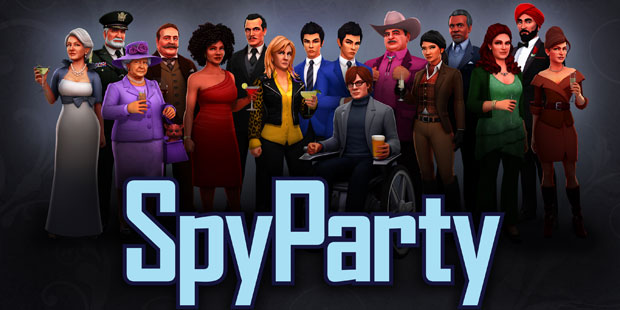 The current cast of SpyParty