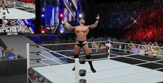 This is Randy Orton. He is asking the audience to judge him because he believes he has sinned.