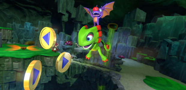 One can hardly have an N64-style platformer without a load of tat to collect.