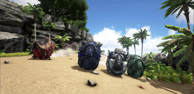 Ark survival evolved offers sonics loving embrace rock paper do malvernweather Choice Image