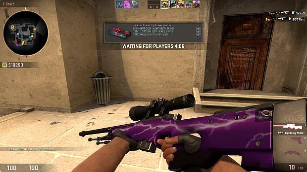 cs go weapon slots