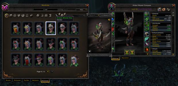 wow legion 12 character slots