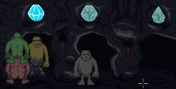Presenting Clod the Magnificent and his dancing trolls!