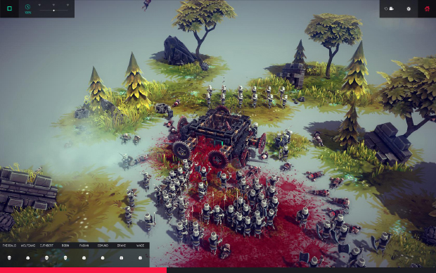 Besiege has left me jonesing for a game that not only lets you build siege weapons, but fortifications, too - developing new designs to thwart the latest technology. Such was the impact of the cannon, for example, that old rectangular forts with their square towers, were largely abandoned. Circular towers deflected cannon shot better than a flat facing wall, but even they had weaknesses: placed at the extremities of a castle, their curving surface created blind spots for the defenders. The Italians had an elaborate solution in the 15th century, building star-shaped forts that prevented cannons being placed perpendicular to their defences. Each wall could also be covered by archers on another, deterring attempts to undermine them.