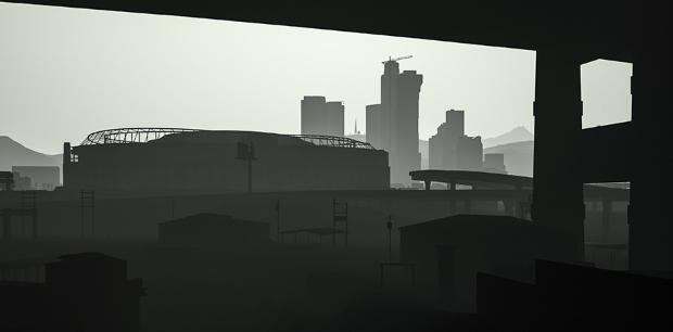 Los Santos in grayscale - 01
