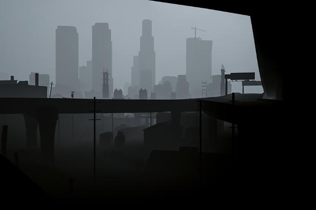Los Santos in grayscale - 03
