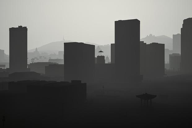 Los Santos in grayscale - 07