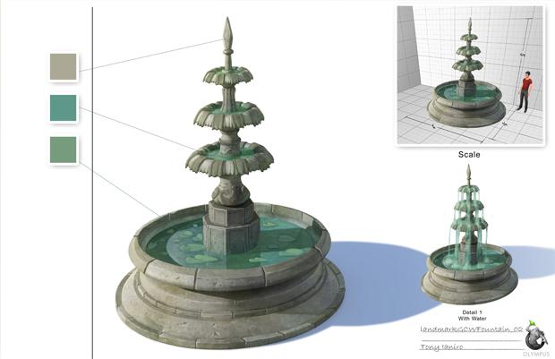 Concept fountain