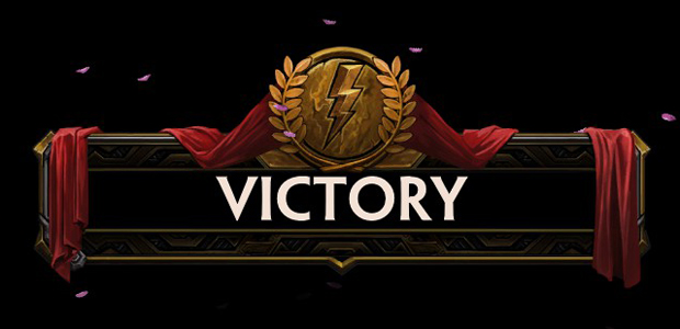 Victory! (at Smite)
