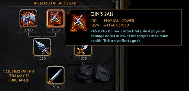 Qin's Sais