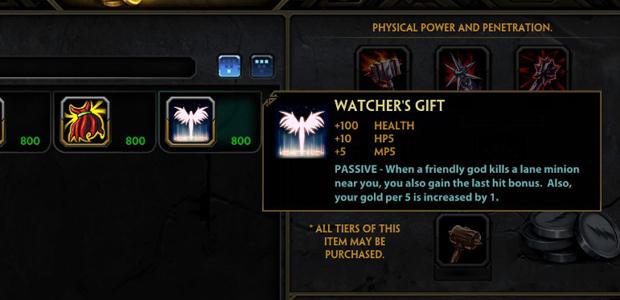 Watcher's Gift