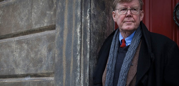 This is a picture of Alan Bennett but you can pretend it's the detective in the game if you like