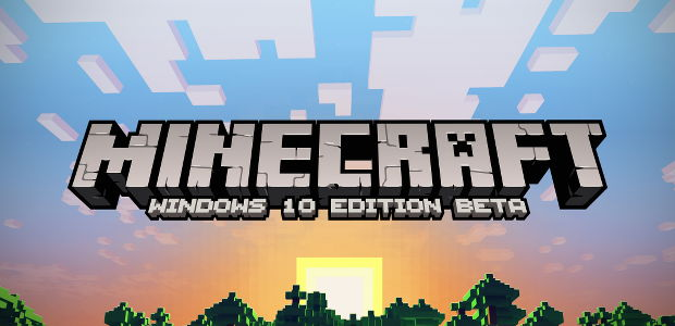 Minecraft windows 10 edition announced rock paper shotgun for Windows 10 official site