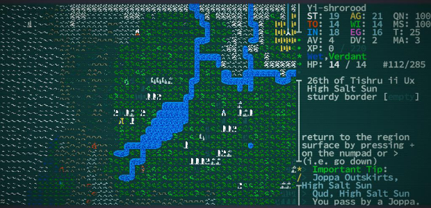 We're at a weird place in videogames - and possibly in culture in general - where certain tropes have ingrained themselves around the notion of mutation which diametrically misrepresent how it works. I'm not saying that's entirely a bad thing - Caves of Qud would be a lesser game if it didn't indulge the fantasy of being able to sprout multiple legs and quills, while farting out a cloud of sleeping gas. Yet it's peculiar that we have seized upon and so widely propagated such a fanciful interpretation of a process that, when considered as part of evolutionary adaptation, is defined by its sloth, incrementality and a total lack of governing agency.