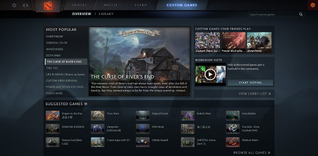 dota 2 reborn mod support bringing new valve modes rock paper