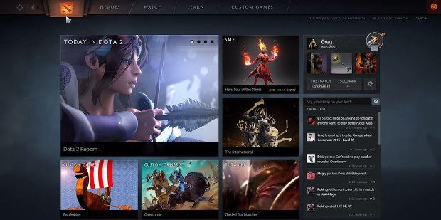 dota 2 reborn new engine new ui rock paper shotgun