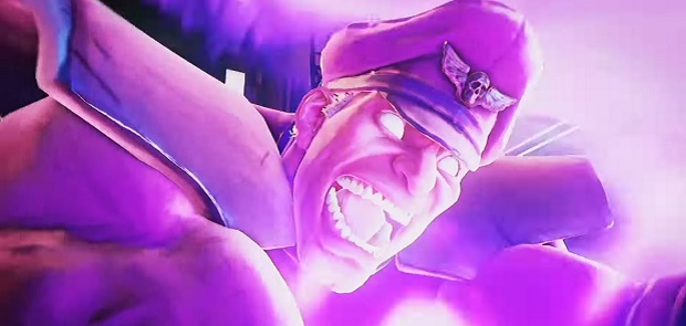 Unwrapping his birthday presents, M Bison was delighted that someone had bought him the purple Lava Lamp he wanted