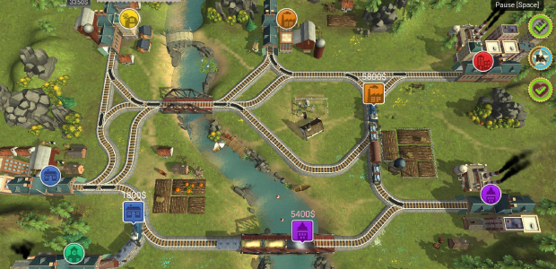 Train Valley offers quite a focussed and fun optimisation challenge rather than a sprawling simulation of every aspect of rail management. Nonetheless, it makes some efforts at historical accuracy - at least in terms of the style of the engines you use - setting its challenges across two centuries of rail transport in Europe, America, Russia and (when it gets a later content patch) Japan. The Gold Rush gets a hat tip, as does World War 2 - so it was with a tiny amount of completely irrational sadness that the date of 1864 came and went while playing the game's European levels, and there was no mention of the One Thing I Know About Railways: the first British railway murder.
