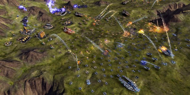 A rather impressive Ashes of the Singularity screenshot