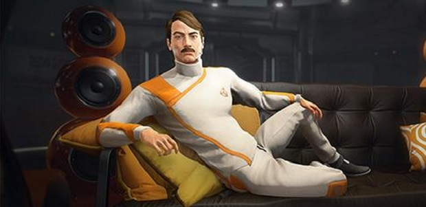 This dapper chap was included in the latest promotional images for Unity. Will that engine one day be able to provide him with the lustrous locks he so clearly deserves?