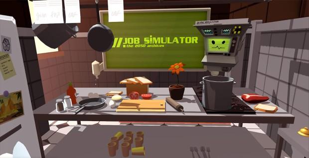 Hands-On: Job Simulator On Valve's Vive VR Headset