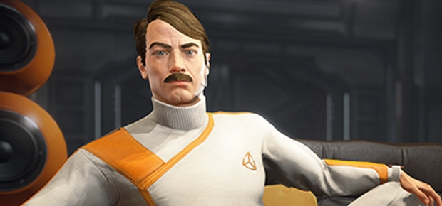 Unity 5 guy with a fine moustache