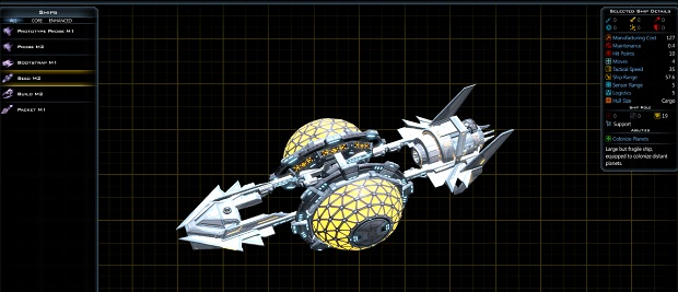 Ah, the old Bugknife - a classic ship design.