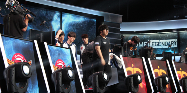 SKT after being put through their paces by Fnatic