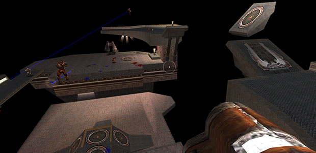 Quake III's Q3DM17