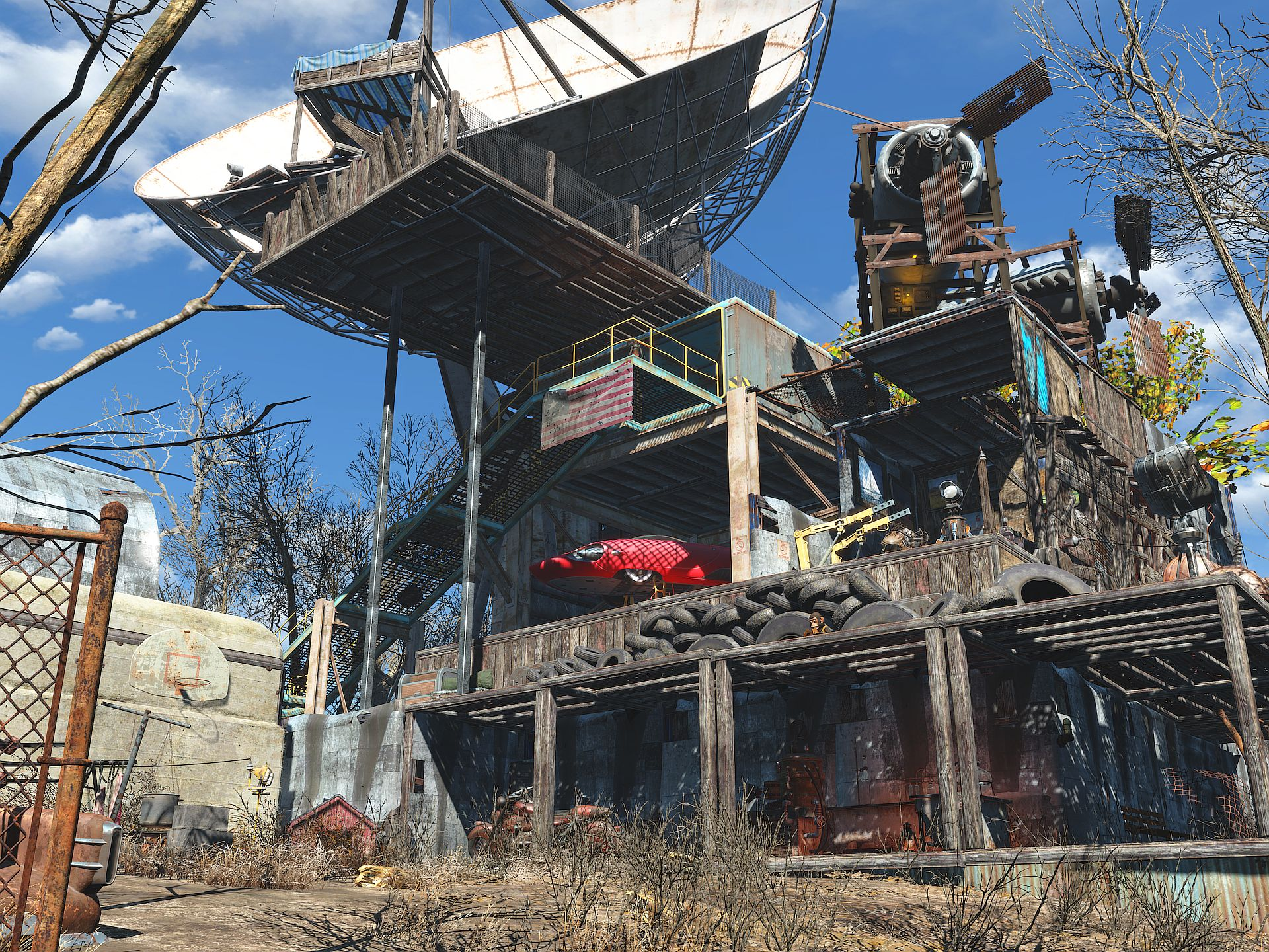 How To Build Castle Base Xbox One Fallout