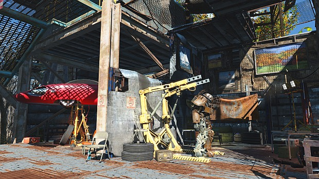 High Quality Scrap Yard Home Decorating Guide Fallout 4 Trailer